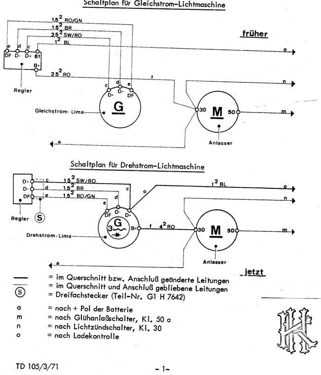 Nett Lichtmaschine Schaltplan Bosch Bilder - Elektrische Schaltplan ...